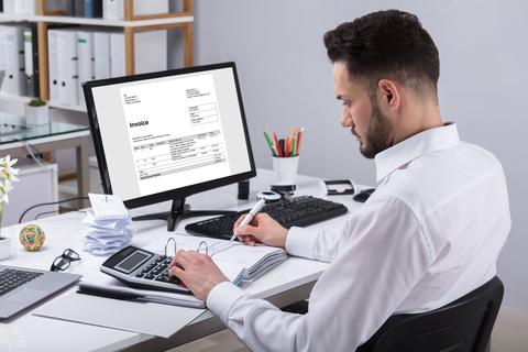 ¿En que consiste la aceptación de facturas?