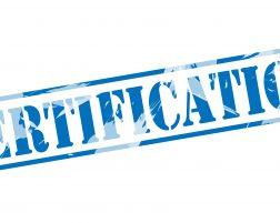 ¿Está su proveedor certificado?